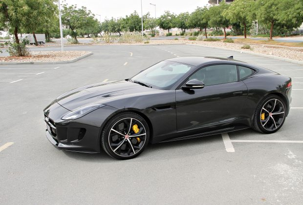 Arab Motor World Jaguar F-Type Test Drive 01