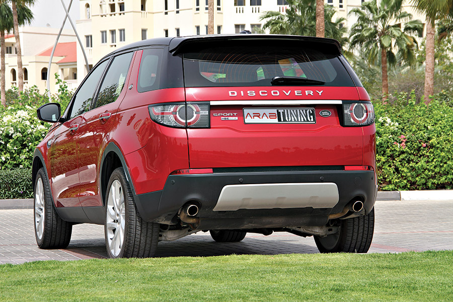 ARAB MOTOR WORLD LAND ROVER DISCOVERY SPORT TEST DRIVE-05