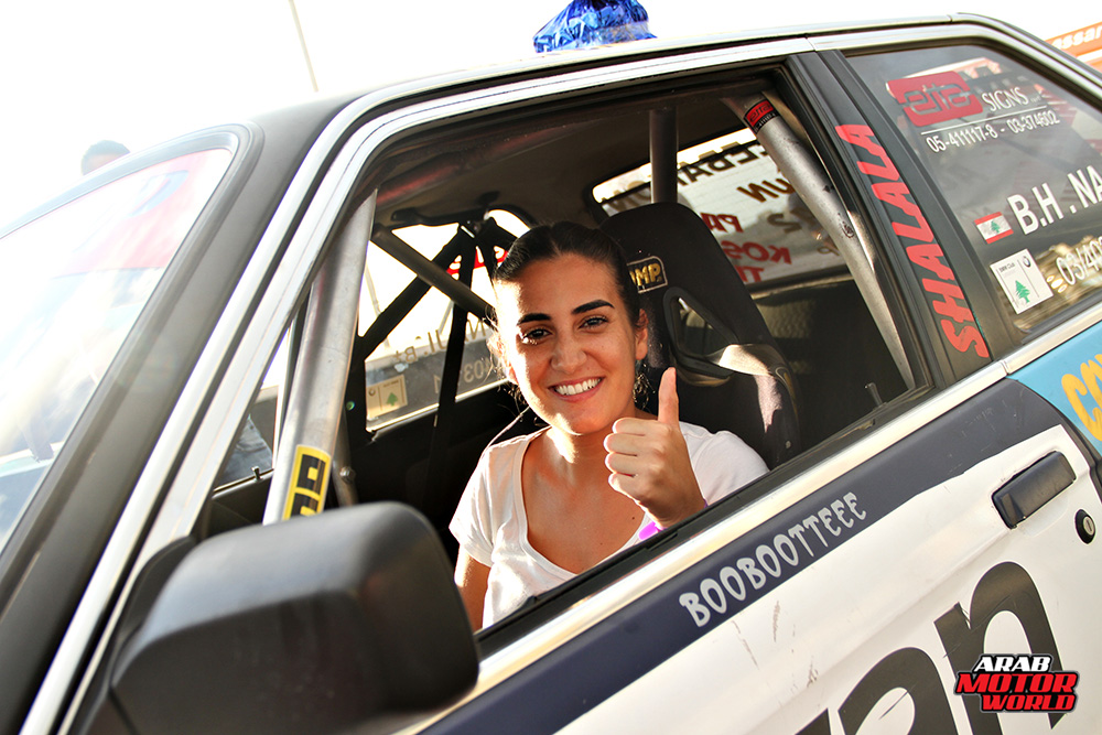 Sarah Hamadeh Stunt Woman Arab Motor World (3)
