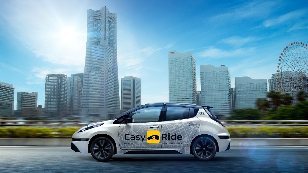 Nissan and DeNa unveil Easy Ride mobility service_Arab Motor world