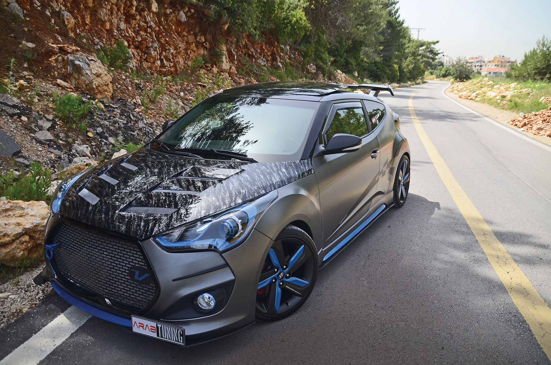Straight Out Of Mortal Kombat The Sub Zero Veloster Turbo