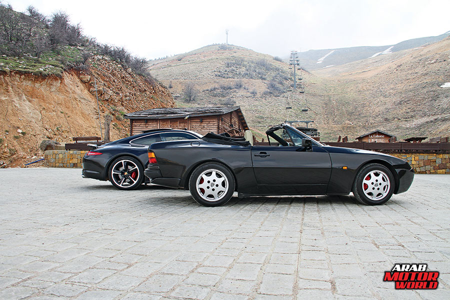 1990-Porsche-944-S2-2015-Porsche-911-Carrera-4S-Arab-Motor-World-05