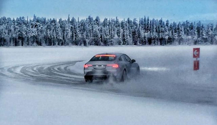 ... Audi VIP customers surpassed themselves by taking curves, counter-steering, stabilizing and drifting through pristine snow and ice landscapes on ...