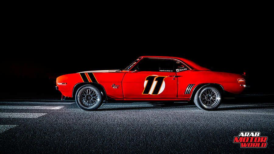 Big-Red-Camaro-SS-RS-1969-Arab-Motor-World-04