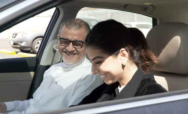 Nissan_KSA Women Driving Arab Motor World 1
