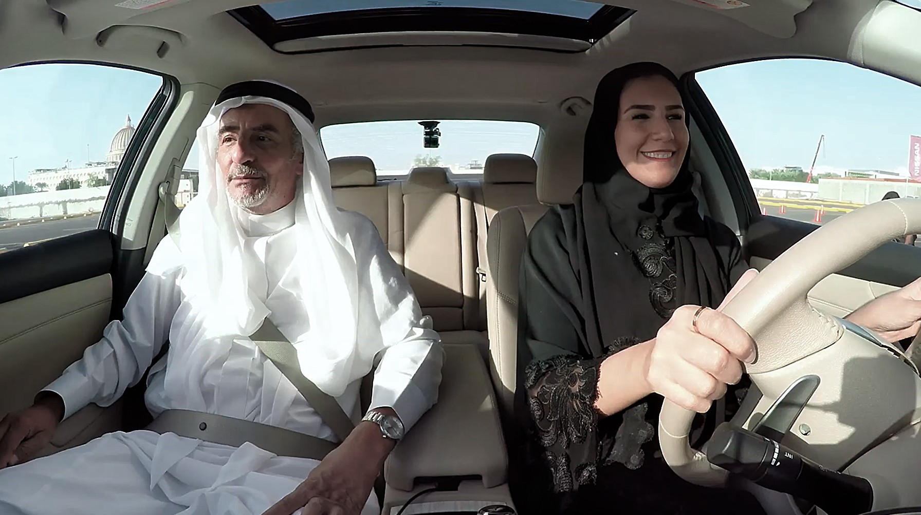 Nissan_KSA Women Driving Arab Motor World 2