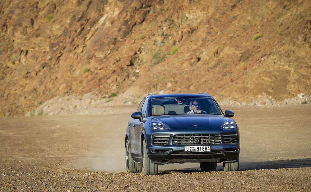The All New Porsche Cayenne 2018 From Fujairah To Oman Arab Motor