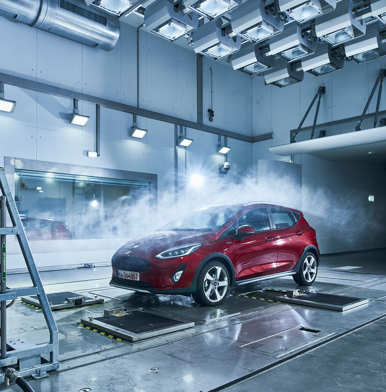 the new heat on ford Ford predicts that the remote start system will help the vehicle's exhaust catalyst heat up more quickly, thereby reducing hydrocarbon, carbon monoxide and nitrogen oxide emissions by up to 75.