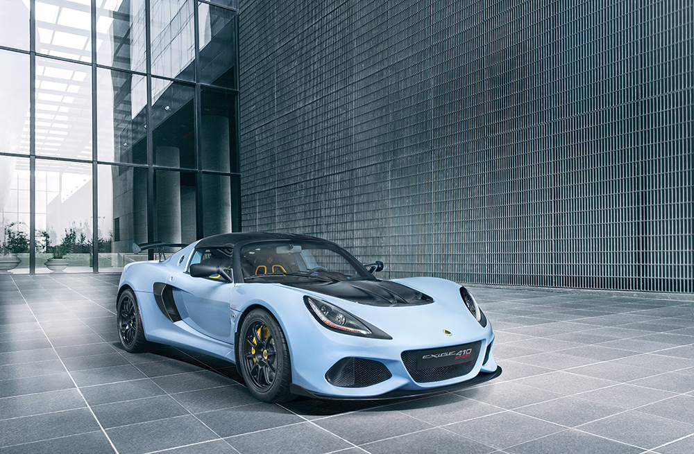 Lotus Launches The New Exige Sport 410 Arab Motor World