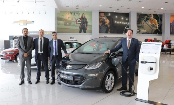 Chevrolet Bolt-EV-at- al ghandi Auto Arab Motor World