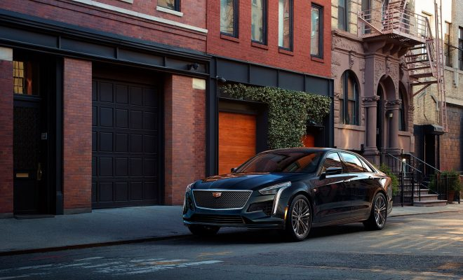 Cadillac-CT6-V-Sport Twin Turbo V-8 Engine