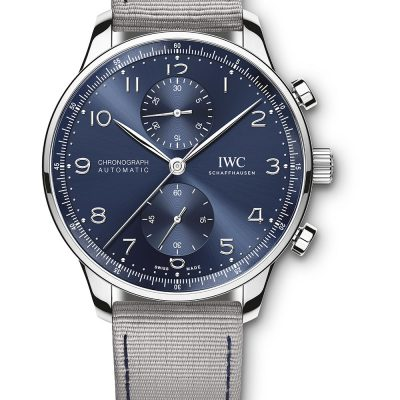 IW371491 Portugieser Chronograph + Summerstrap IWIWE10927