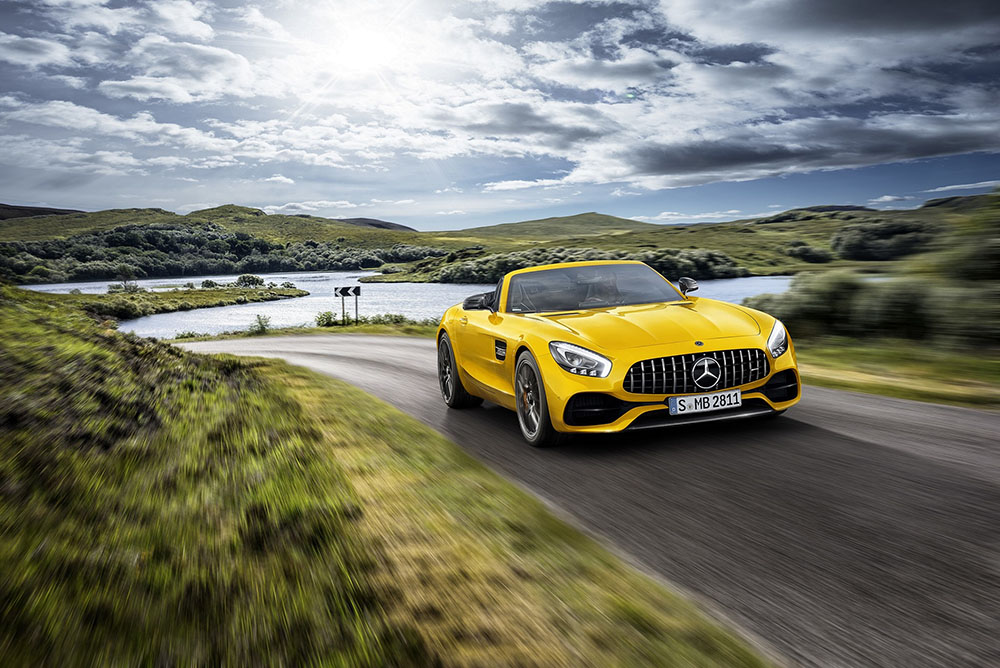 Mercedes-AMG GT S Roadster - Arab Motor World
