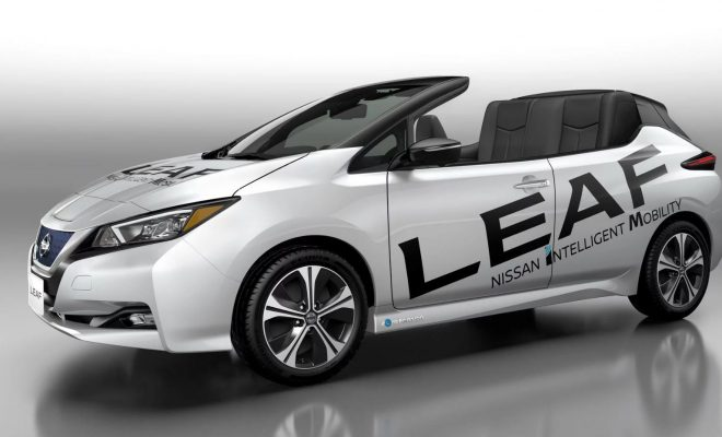 Open air version new nissan leaf