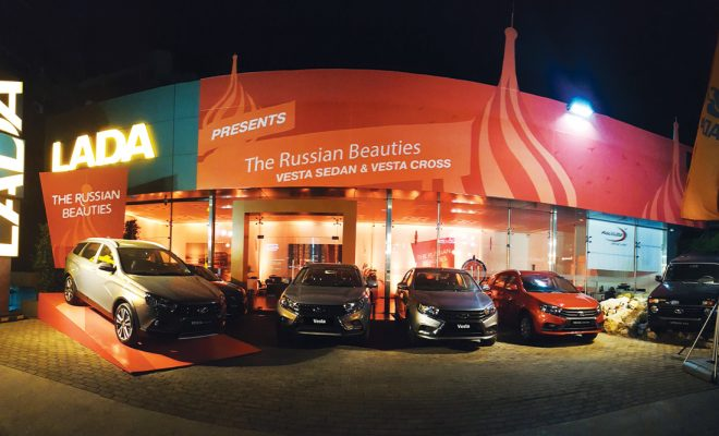 Lada Vesta Sedan & Vesta Cross Arab Motor World