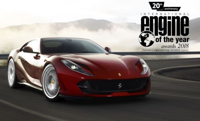 Ferrar 812 Superfast - Engine Of The Year 2018