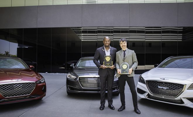 Genesis Luxury Sedan Award Arab Motor World