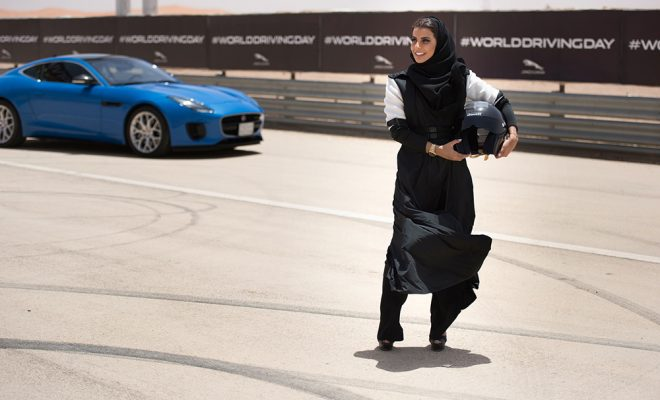 HISTORIC DAY MARKED BY SAUDI WOMAN RACING DRIVER Arab Motor World (3)