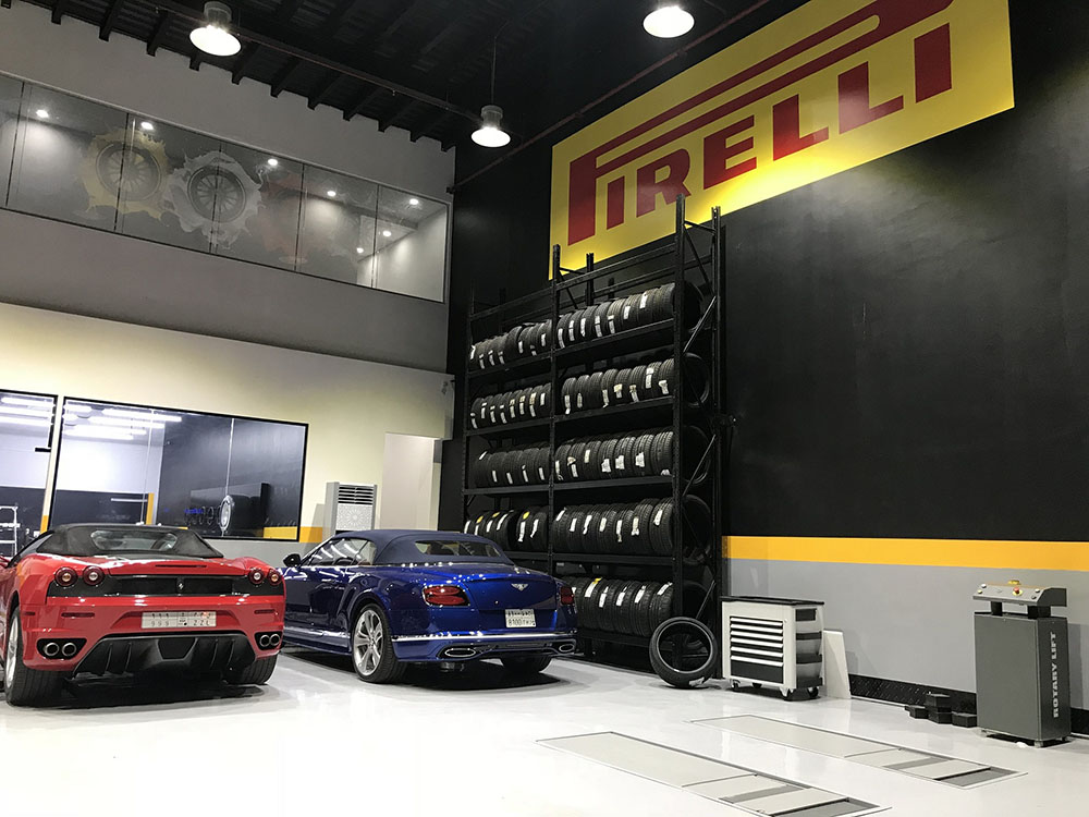 Pirelli Performance Centre in Jeddah, KSA