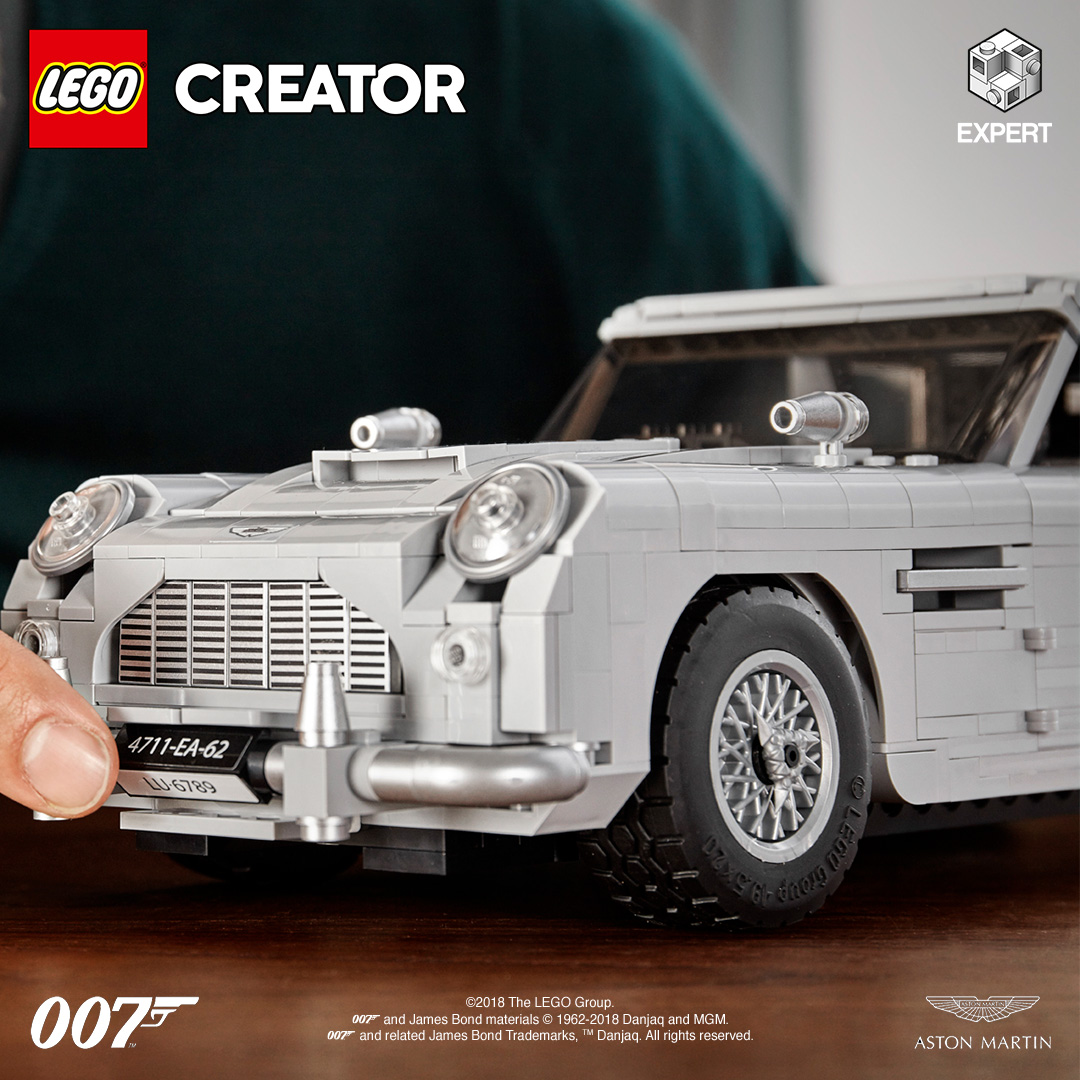 Lego Creator Expert James Bond Aston Martin Db5 1 Arab