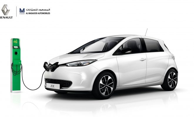 Renault Zoe Al Masaoud Abu Dhabi