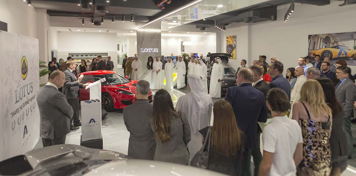 Lotus showroom Adamas Motors - Lotus Cars Dubai Grand Showroom Opening - Arab Motor World (4)