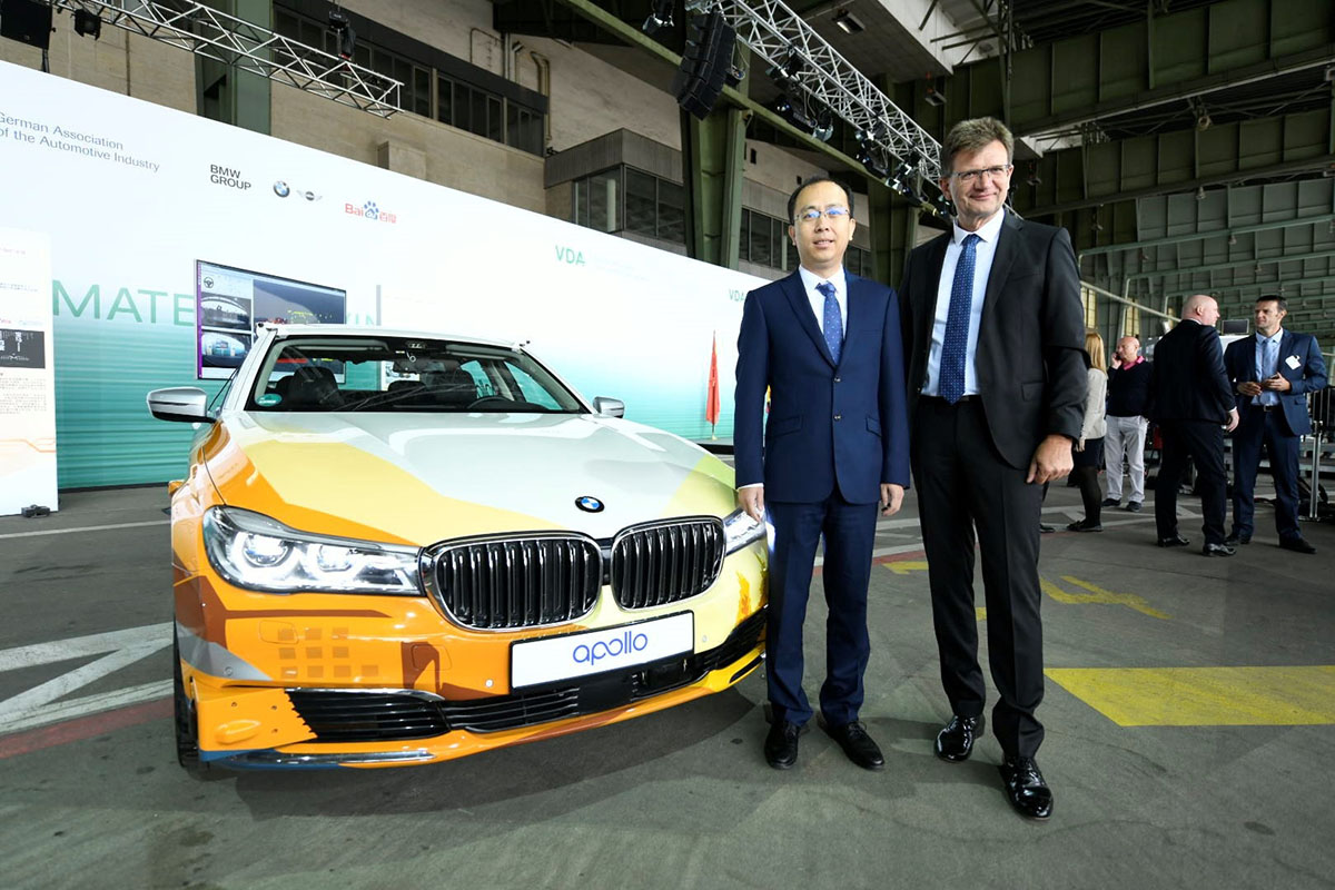 BMW Group and Baidu Join Forces Autonomous Driving in China 1 - Arab Motor World