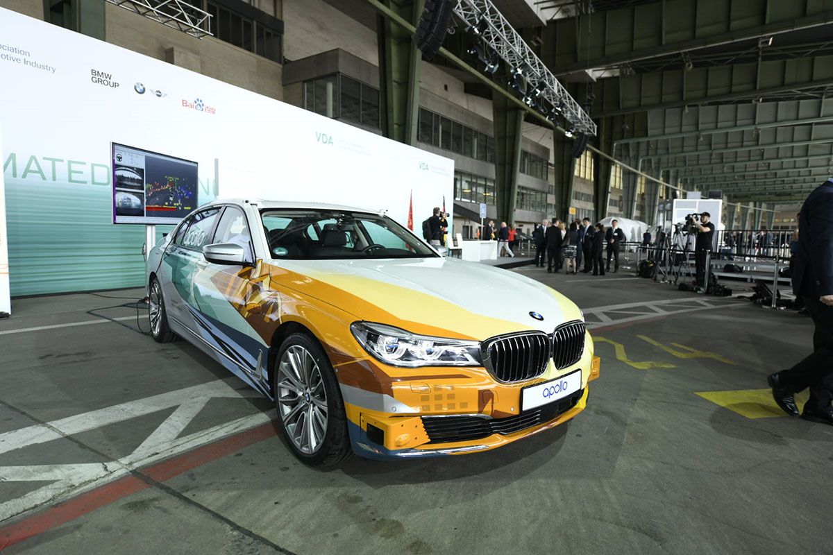 BMW Group and Baidu Join Forces Autonomous Driving in China 2 - Arab Motor World