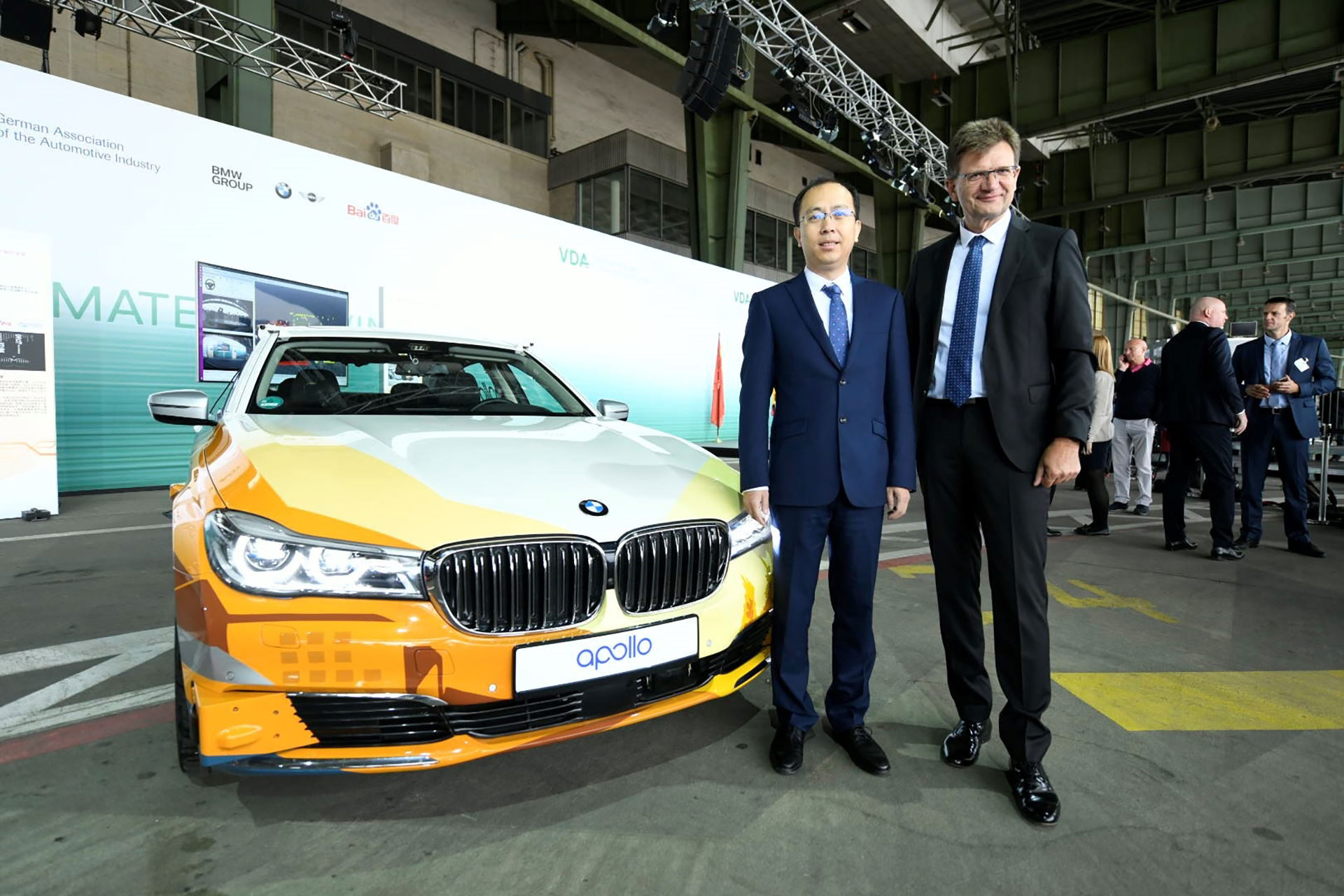 BMW Group and Baidu Join Forces Autonomous Driving in China - Cover - Arab Motor World