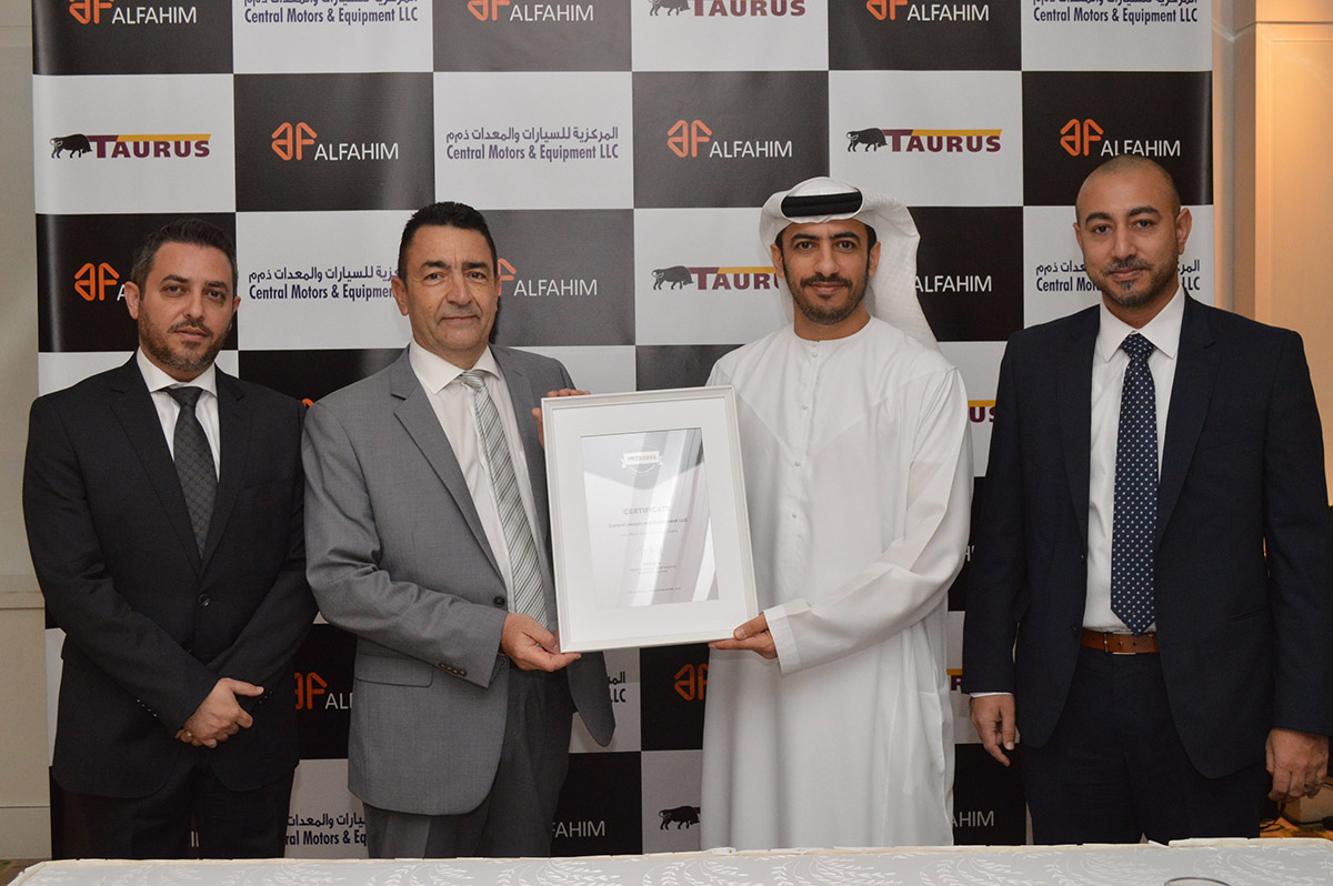 CME introduces Taurus tyres to the UAE - Arab Motor World