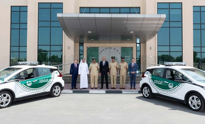 Chevrolet Bolt EV joins the Dubai Police fleet - Cover - Arab Motor World
