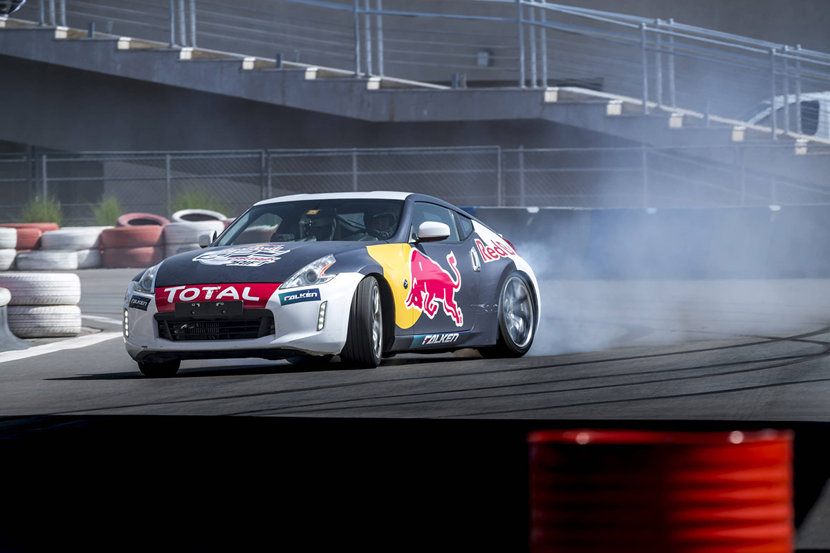 Red Bull Car Park Drift - Arab Motor World