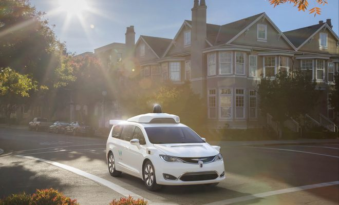 Waymo FCA Fully Self-Driving Chrysler Pacifica Hybrid Cover - Arab Motor World