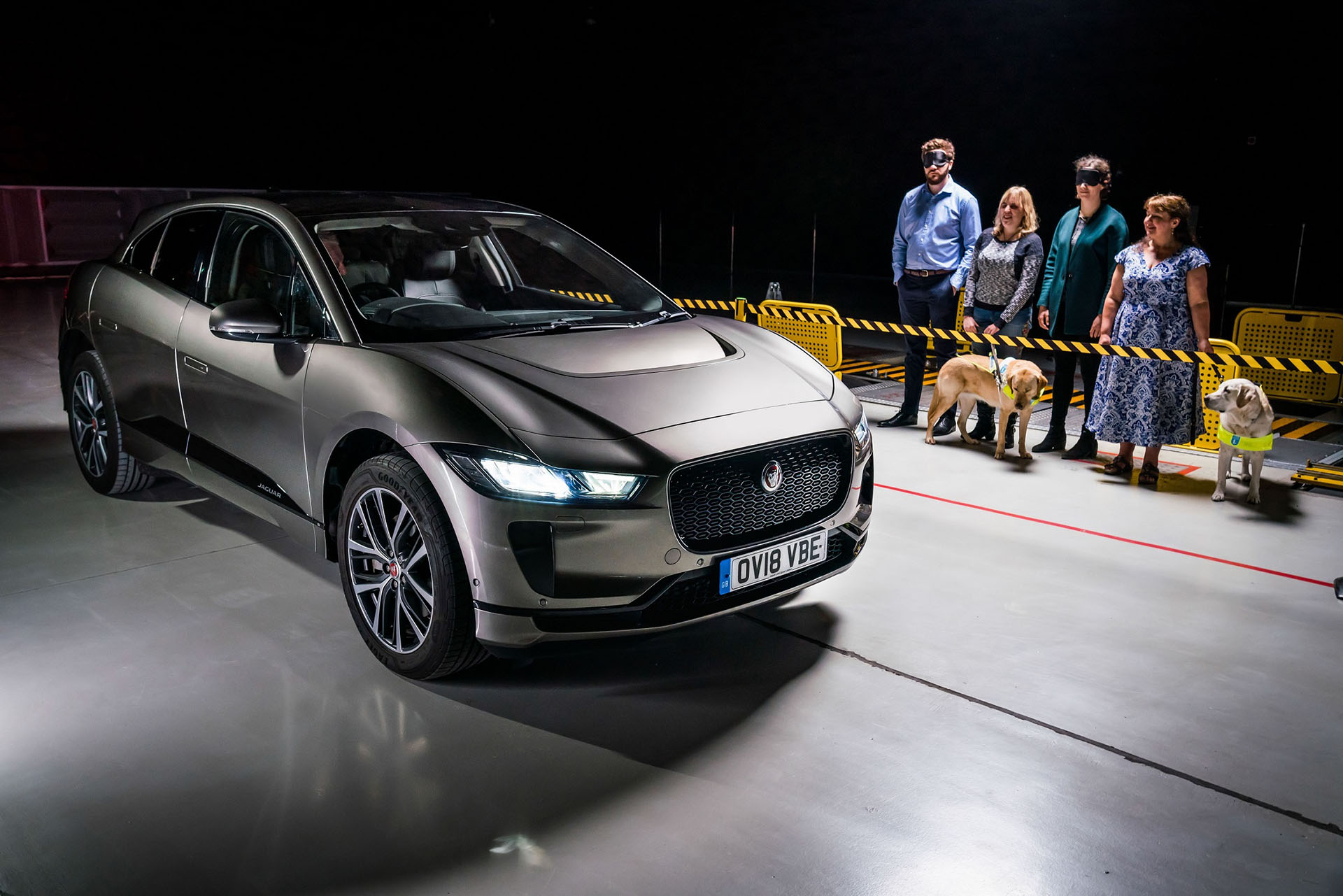 SOUND OF JAGUAR I-PACE PROTECTS ROAD USERS -Cover - Arab Motor World (1)
