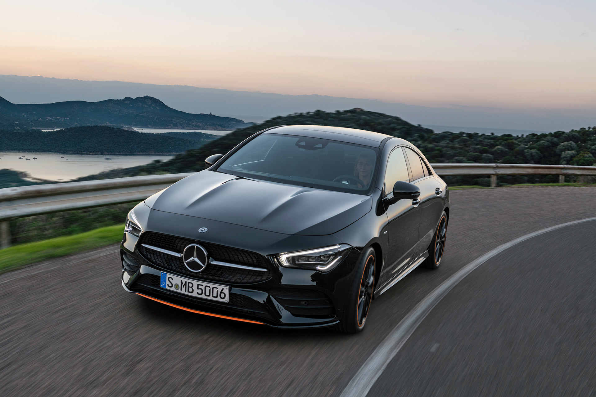 Mercedesd-CLA-Front