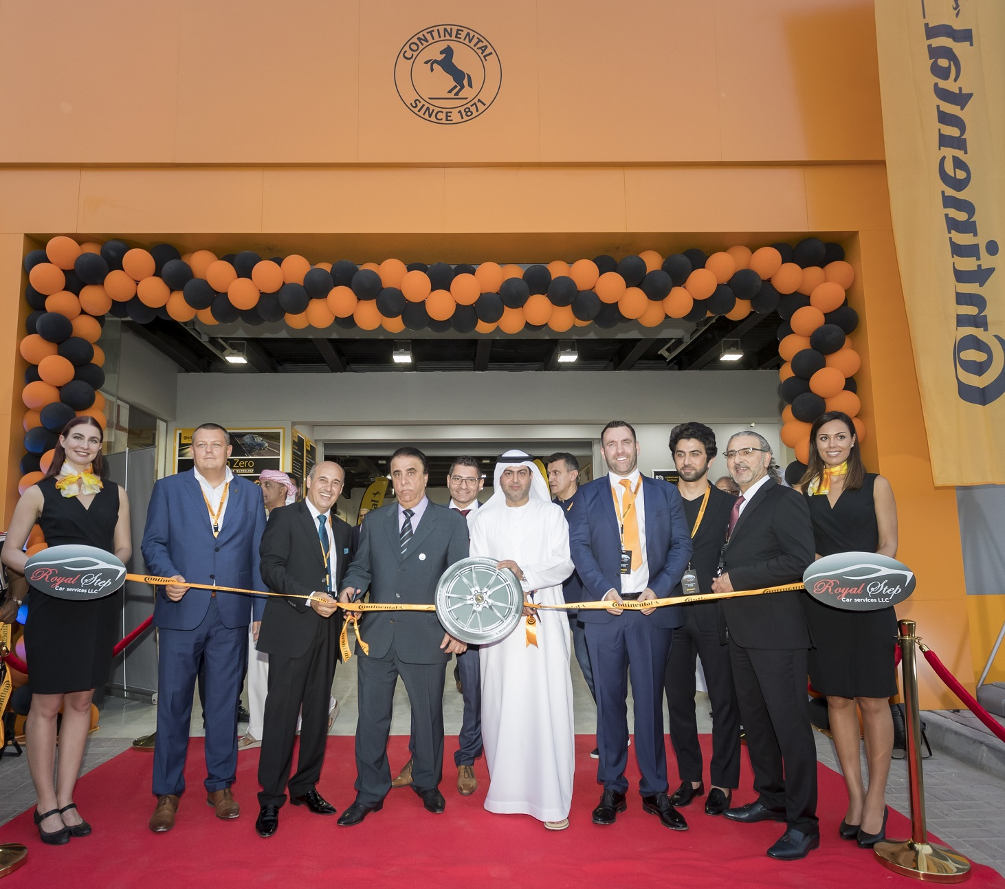 Continental Tires Service center in Middle East