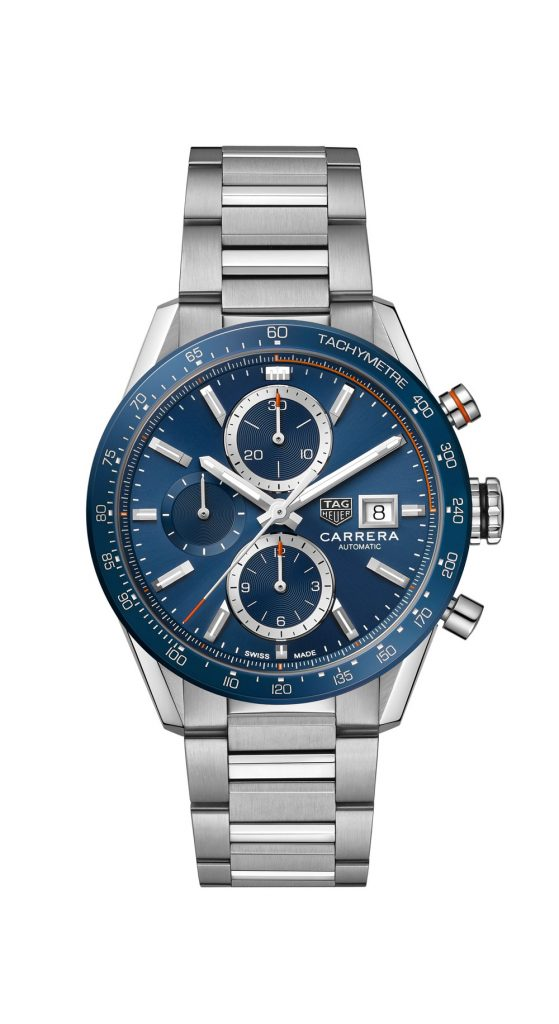 The new TAG Heuer Carrera WITH AN UPDATED DESIG