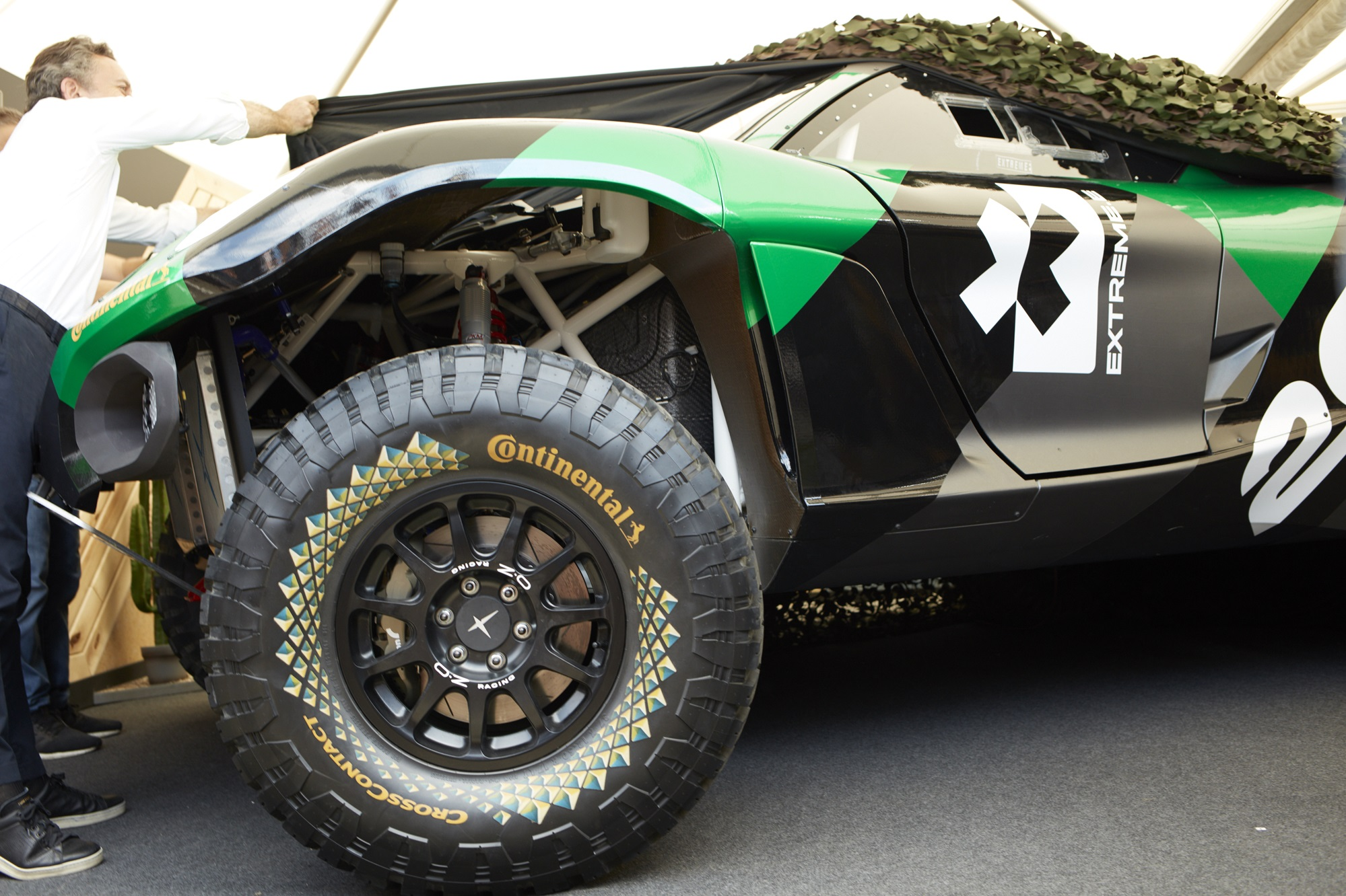 Extreme E electric SUV