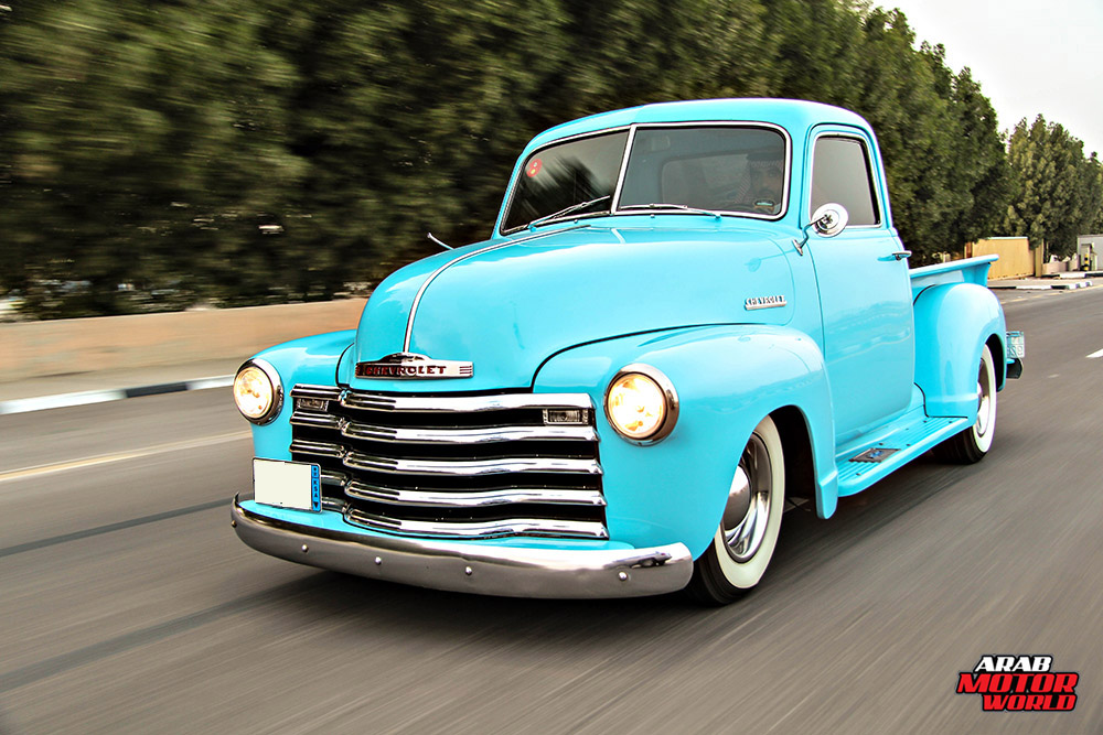 1950 Chevy Truck Arab Motor World (1)