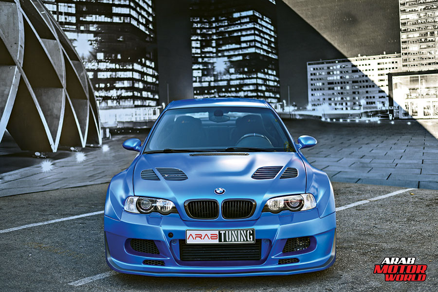 Blue-BMW-Asuka-Widebody-kit-M3-HPF_Arab-Motor-World-01