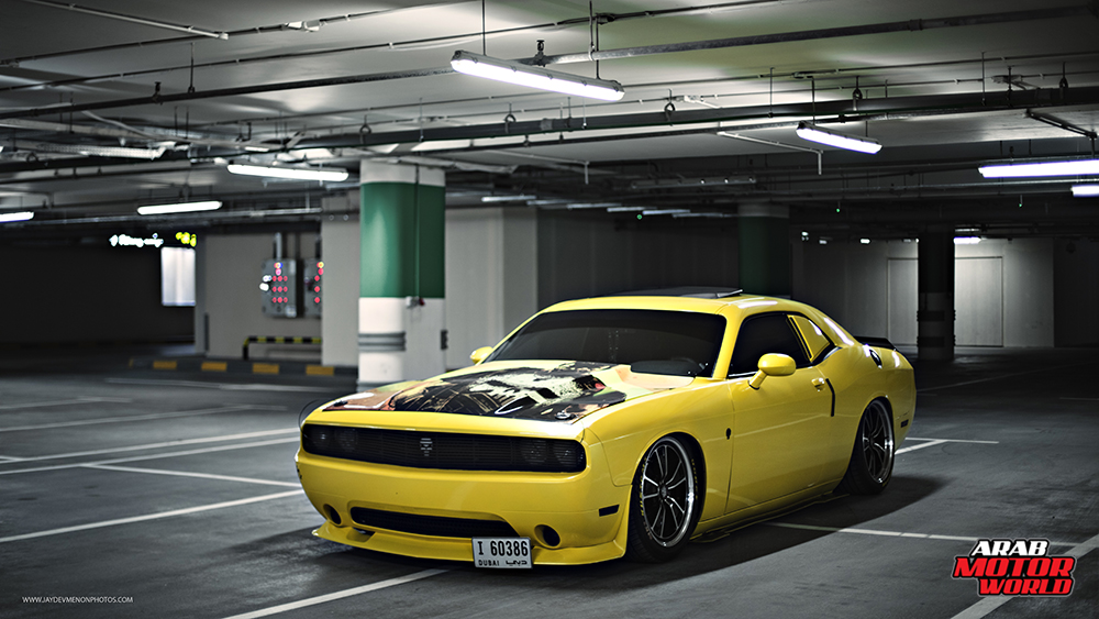 Dodge Challenger Punisher UAE Arab Motor World (2)