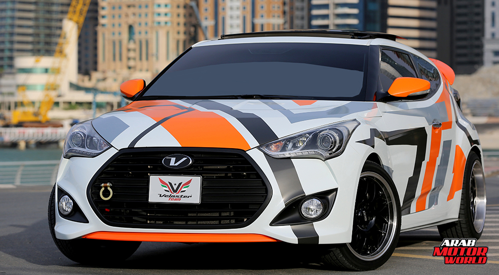 Hyundai Veloster UAE - Arab Motor World (0)