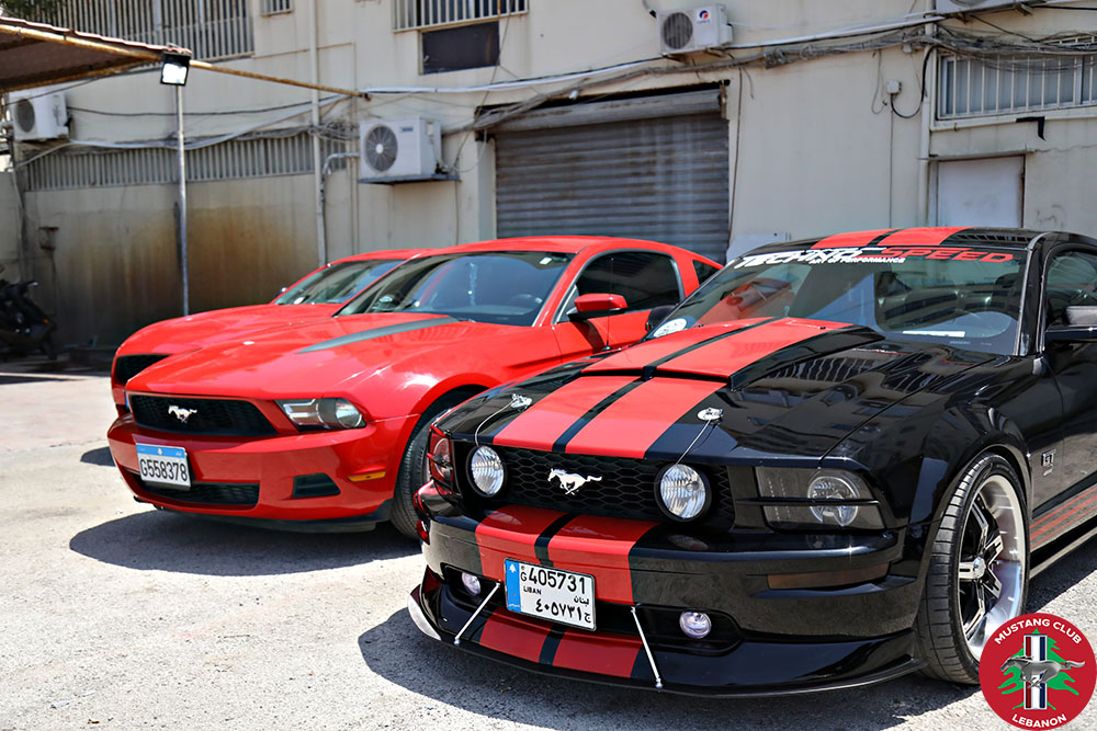 Mustang Club Lebanon Official Launch (1)