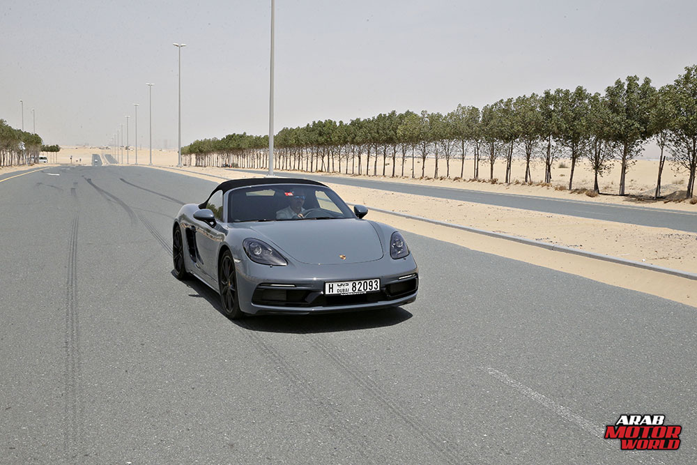Porsche 718 Boxster GTS Test Drive Arab Motor World (2)
