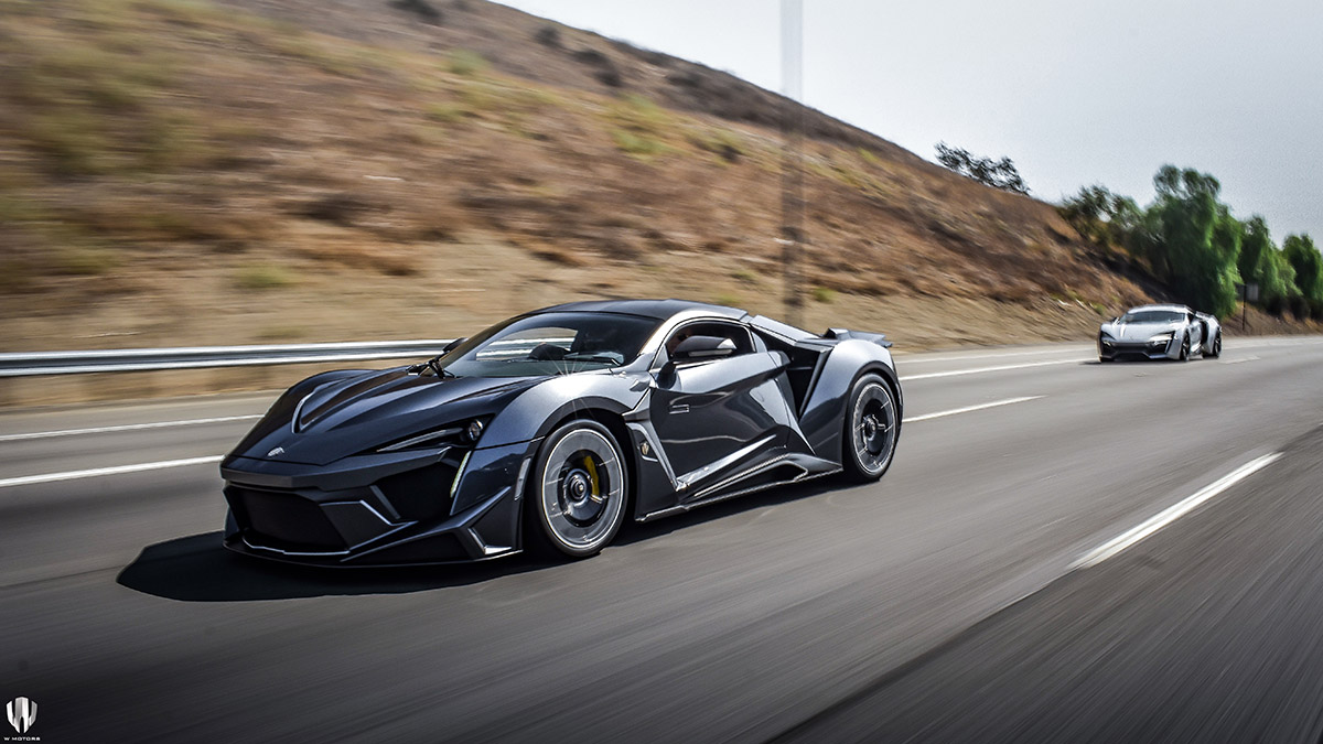 W Motors Fenyr SuperSport - Arab Motor World