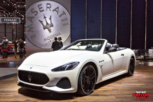 Maserati Gran Cabrio Geneva International Motor Show 2018 Arab Motor World