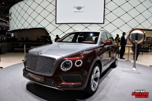 BENTLEY Bentayaga V8 Geneva International Motor Show 2018 Arab Motor World