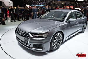 AUDI A6 Geneva International Motor Show 2018 Arab Motor World
