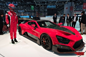ZENVO  TSR-S, Geneva International Motor Show 2018 Arab Motor World
