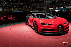 Bugatti Chiron Sport Geneva International Motor Show 2018 Arab Motor World
